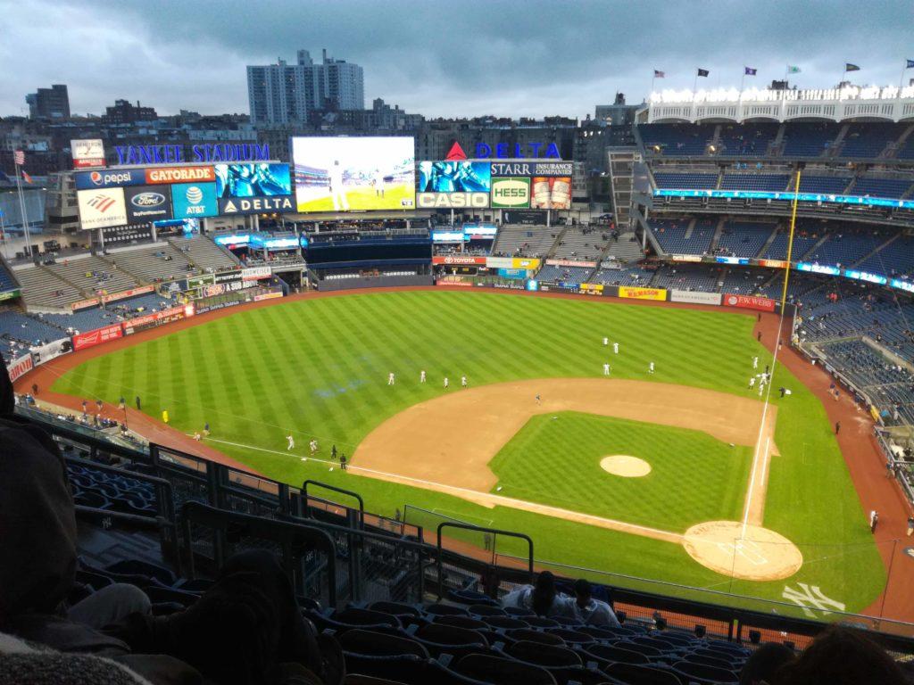 match annulé au yankee stadium